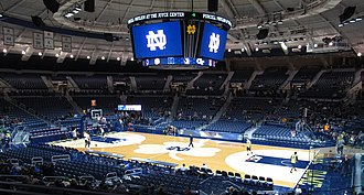 Edmund P. Joyce Center - The Purcell Pavilion in 2013.