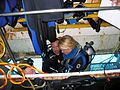 Jsc2006e30801 Nyberg suits up for NEEMO EVA.jpg