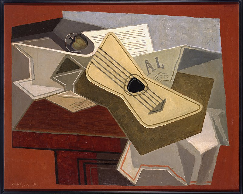 Juan Gris - Guitare et journal - Google Art Project.jpg