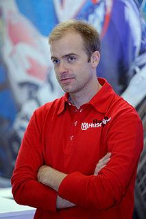 Juha Salminen Finnish motorcycle racer