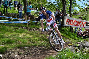 UCI Mountain Bike World Cup - Frenchman Julien Absalon is a seven-time winner of the overall cross-country series.