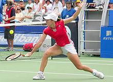 Justine Henin A Tennis Player