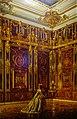 Königsberg Dohnaturm Bernsteinmuseum Gemälde des Bernsteinzimmers.jpg