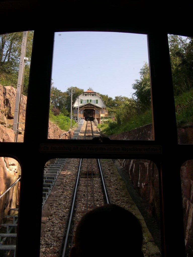 Königstuhl funicular station