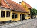 Køge - gamle huse i Kirkestræde.jpg