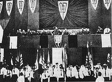 Konferencia sudetonemeckej strany, ktorá vypracovala Karlovarský manifest požiadiaviek nemeckej menšiny