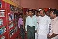 K.R. Periyakaruppan visiting the pavilions at the Bharat Nirman Public Information Campaign, at Manamadurai in Sivaganga District, Tamil Nadu on July 29, 2010.jpg