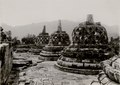 KITLV - 82387 - Kurkdjian - Soerabaja - Stupas of the Borobudur in Magelang - circa 1910.tif