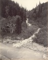 KITLV 100529 - Unknown - River, probably in Kashmir in British India - Around 1870.tif