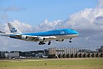 KLM Boeing 747-400 PH-BFS landing at EHAM 09.jpg