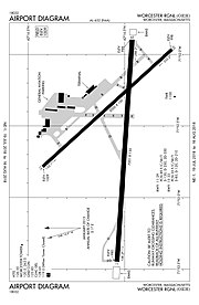 Florida Airports Map.Worcester Regional Airport Wikipedia