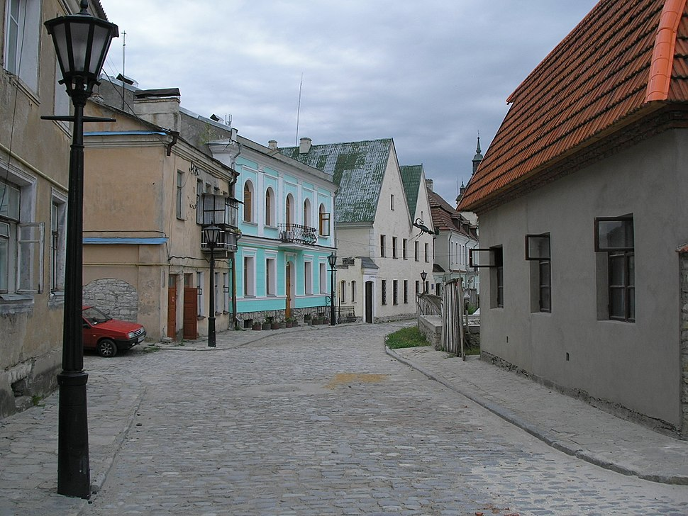 Kamianets-Podilskyi Old Town street