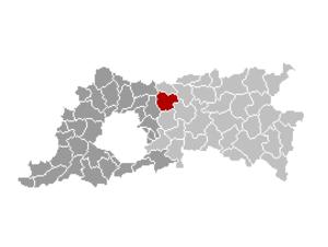 Kampenhout - Image: Kampenhout Locatie