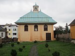 Karaite synagogue (Kenesa) in Trakai.JPG