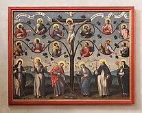 Karden, St. Castor - Jesus wahrer Weinstock, 17. Jh. (2019-05-23 Sp).JPG