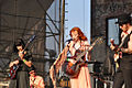 Karen Elson and Band of Horses in June 2010.jpg