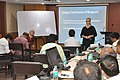 Karen Lee With Gretchen Jennings Conducting Workshop On Learning In Science Museums - NCSM - Kolkata 2018-07-12 2433.JPG