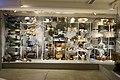 Karmsund folkemuseum (Regional Museum) Haugesund Norway 2020-06-10 Tverrsalar (side saddles kvinnesaler) grautambar tiner smørformer ølboller sendingskorger (wooden food containers) etc 00453.jpg