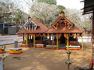 Thana, Kannur - Image: Karuvalli Kavu Thana