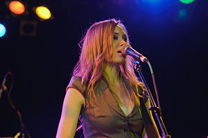 Katie Cole at the Roxy, 23 April 2012 (7113895035).jpg