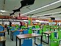 Keep safe distance notice in food court in Wenhui Square, SIP.jpg