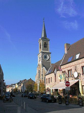 Dilsen-Stokkem - Image: Kerkstokkem