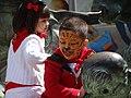Kids on Bull Sculptures - Pamplona - Navarra - Spain (14420182819).jpg