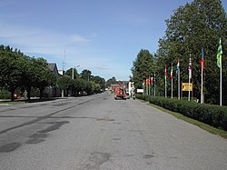 The main street in Kilingi-Nõmme