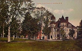 Plainfield, New Hampshire - Image: Kimball Union Academy, Meriden, NH