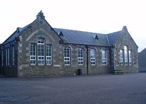 Carnoustie High School - Carnoustie Public School, later Kinloch Primary School, demolished Summer 2010