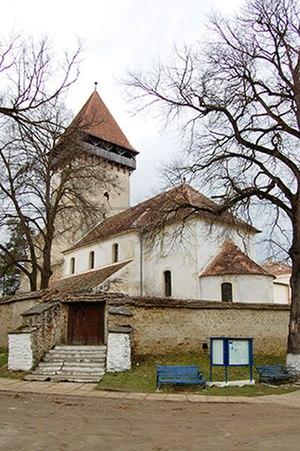 Chirpăr - Fortified church of Chirpăr