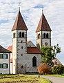 Kirchtürme von St. Peter und Paul (Niederzell) auf der Insel Reichenau im Bodensee.jpg