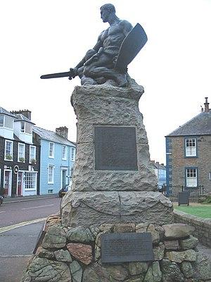 George Henry Paulin - Kirkcudbright War Memorial – by Paulin