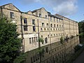 Kirkstall Brewery Residences, canal side 11 July 2019.jpg