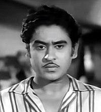 Kishore Kumar dans Bhagam Bhag (1956).jpg