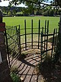 Kissing gate, Wiveliscombe Recreation Ground - geograph.org.uk - 1520395.jpg