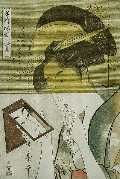 File:Kitagawa Utamaro - Jeune femme.jpg