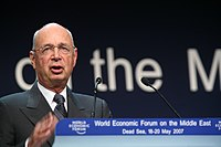 Klaus Schwab - World Economic Forum on the Middle East Dead Sea Jordan 2007 (1).jpg