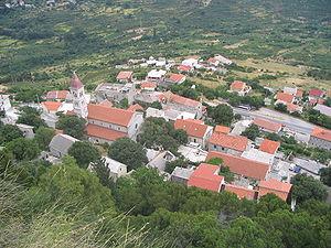Klis - Klis seen from the Klis Fortress