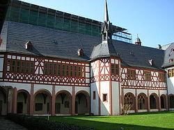 Kloster Eberbach Kreuzgang