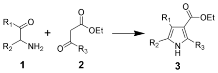 The Knorr pyrrole synthesis