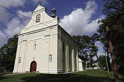 Kościół p.w. św. Wawrzyńca (2 poł. XVIII) w zespole kościoła parafialnego.jpg