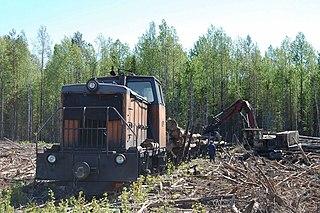 Kobrinskaya narrow-gauge railway