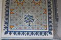 Kok Gumbaz mosque in Shahrisabz - inside 5 - detail.JPG