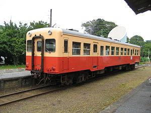 Kominato Line - KiHa 200 DMU car 214 in June 2011