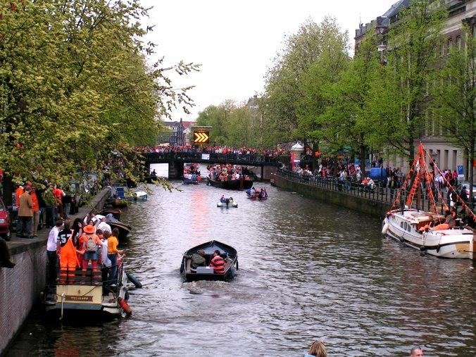 Koninginnedag 2005 amsterdam
