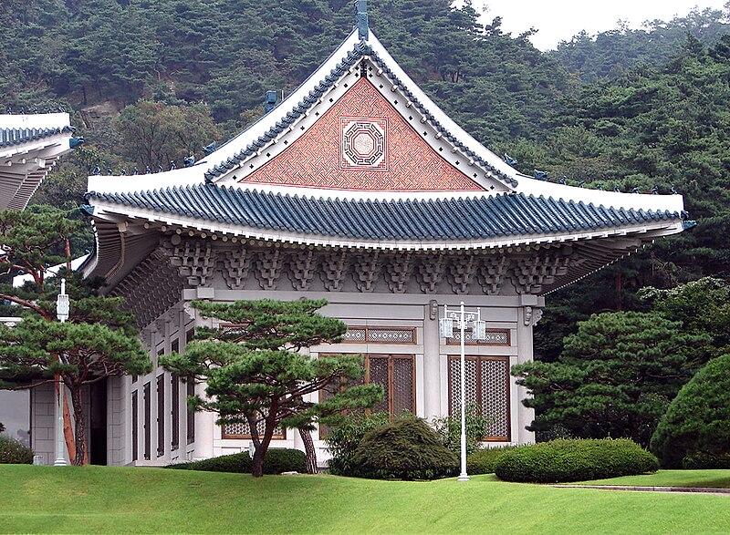 Berkas: Korea-Seoul-Blue House (Cheongwadae) Penerimaan Pusat 0690-07.jpg