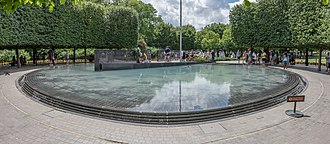 Korean War Veterans Memorial - Pool of Remembrance