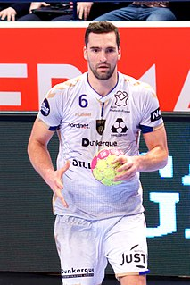 Kornél Nagy Hungarian handball player