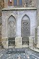 Kostel sv. Petra a Pavla (Čáslav) - náhrobní kameny 4.JPG